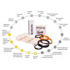 Нагревательный кабель Woks-18